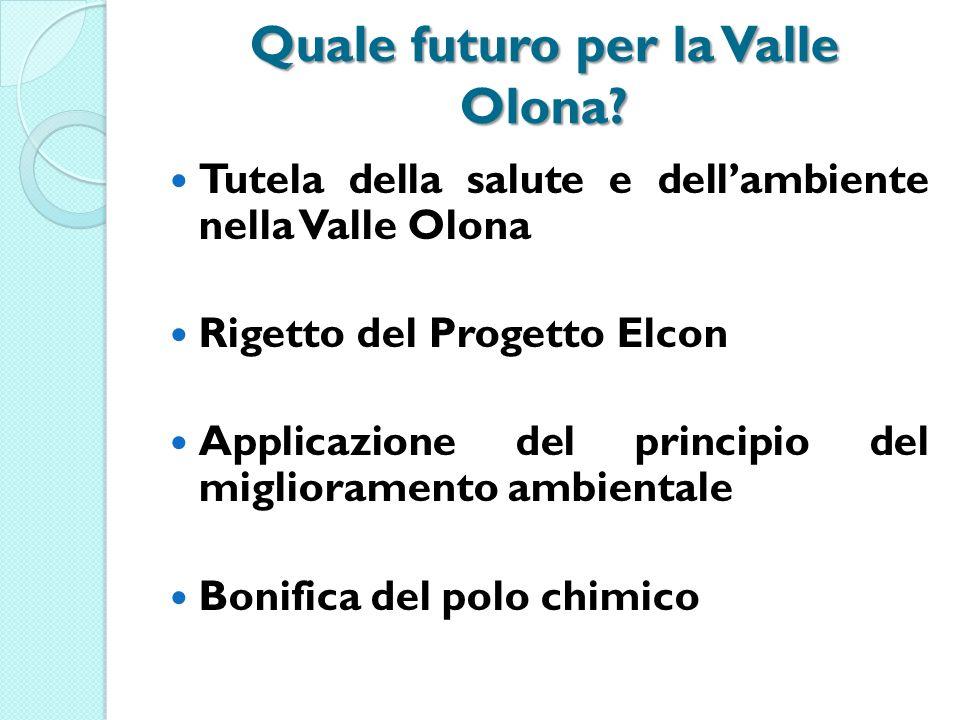 Quale futuro per la Valle Olona