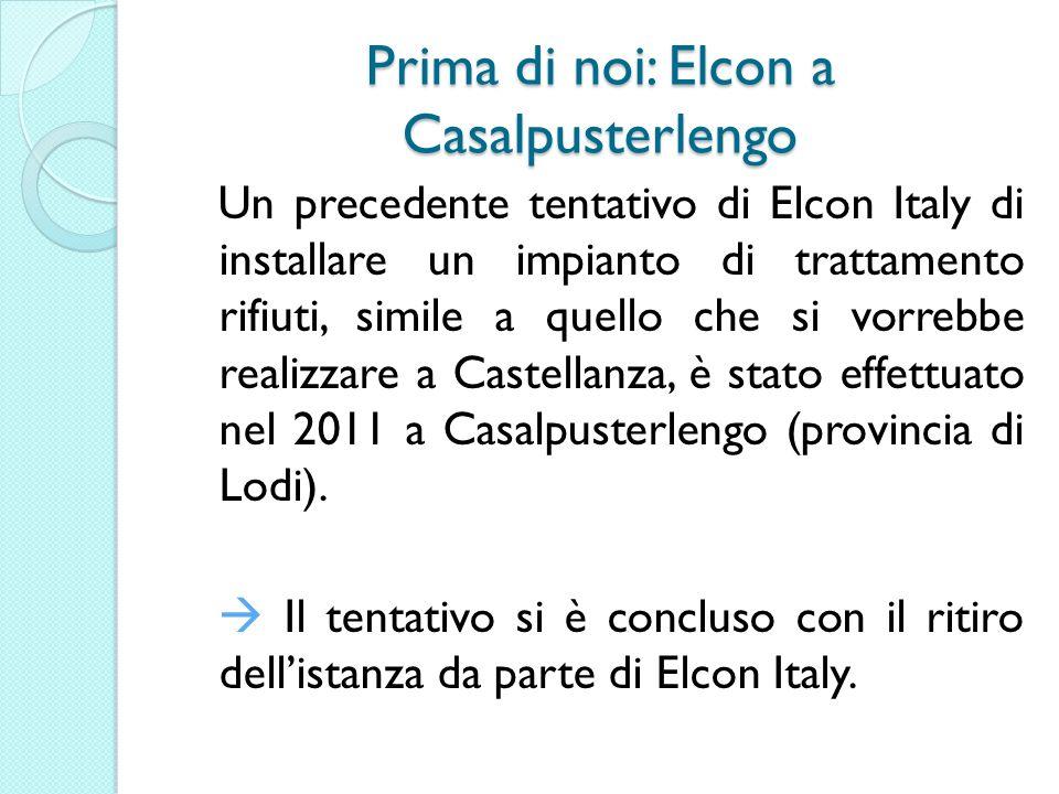 Prima di noi: Elcon a Casalpusterlengo