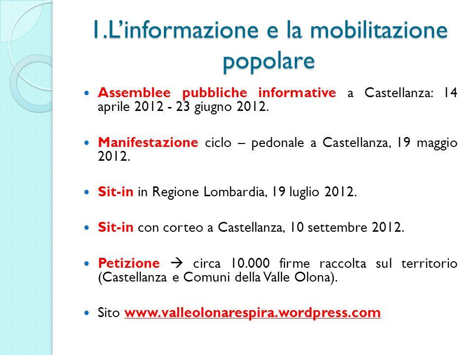 1.L'informazione e la mobilitazione popolare