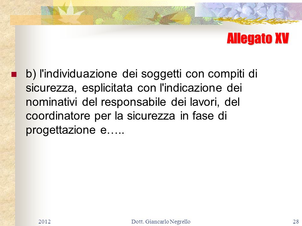 Dott. Giancarlo Negrello
