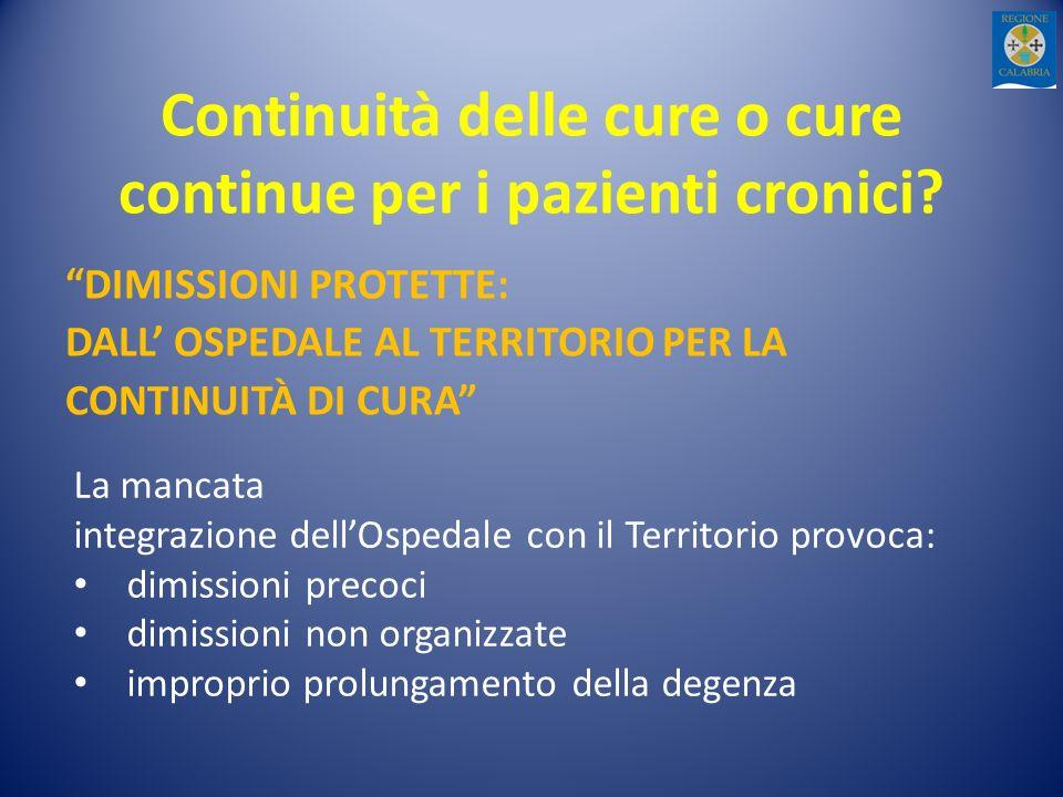 Continuità delle cure o cure continue per i pazienti cronici