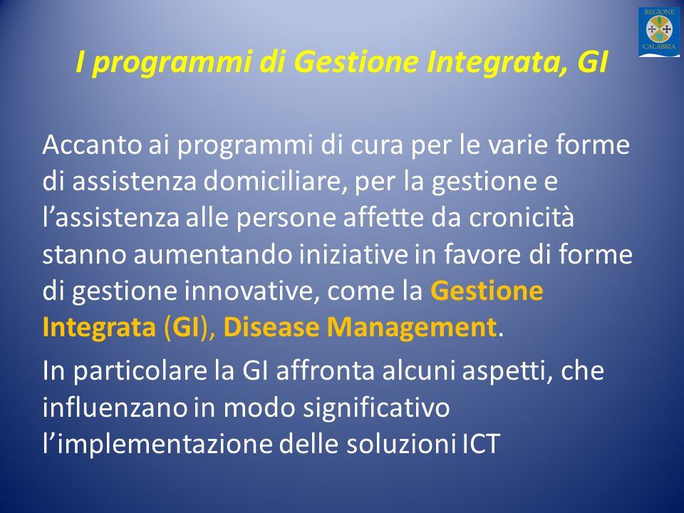 I programmi di Gestione Integrata, GI