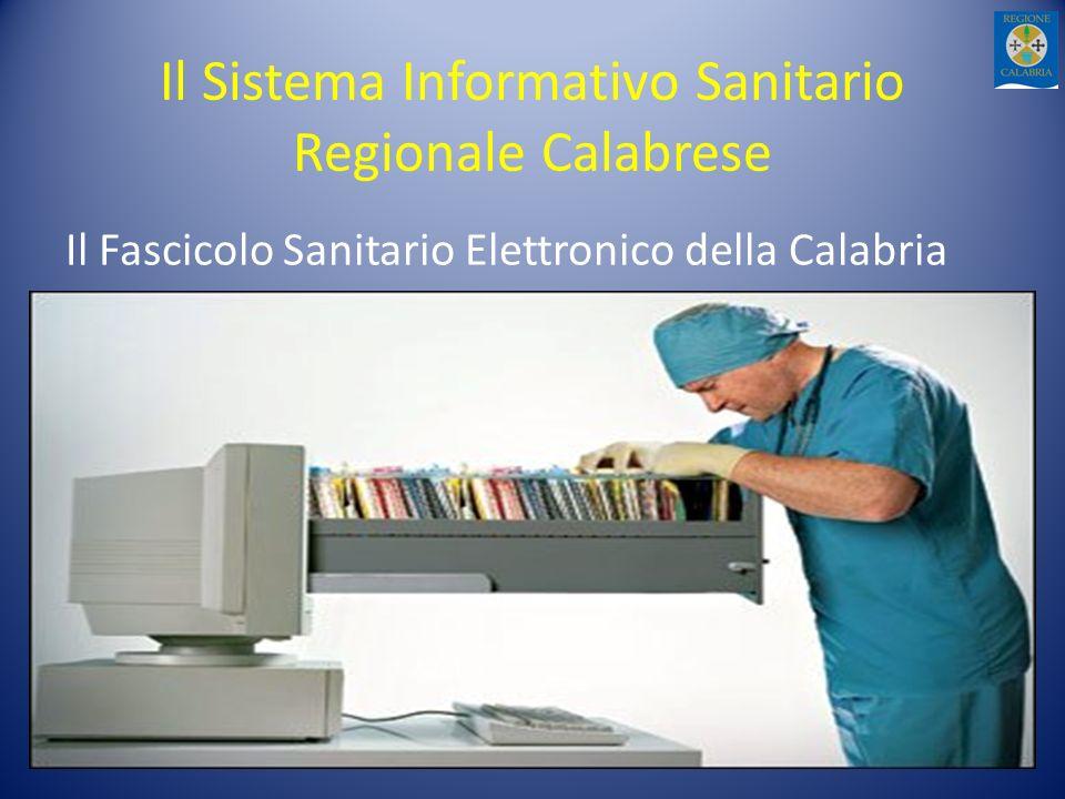 Il Sistema Informativo Sanitario Regionale Calabrese