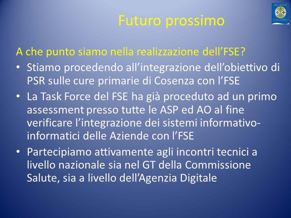 Futuro prossimo A che punto siamo nella realizzazione dell'FSE