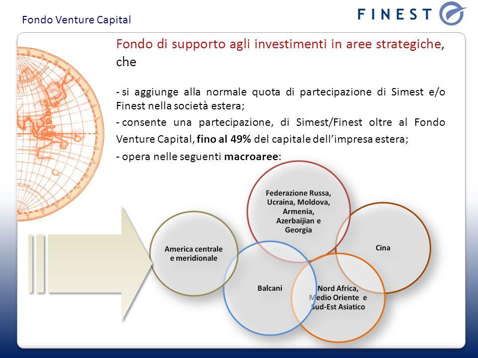 Fondo di supporto agli investimenti in aree strategiche, che