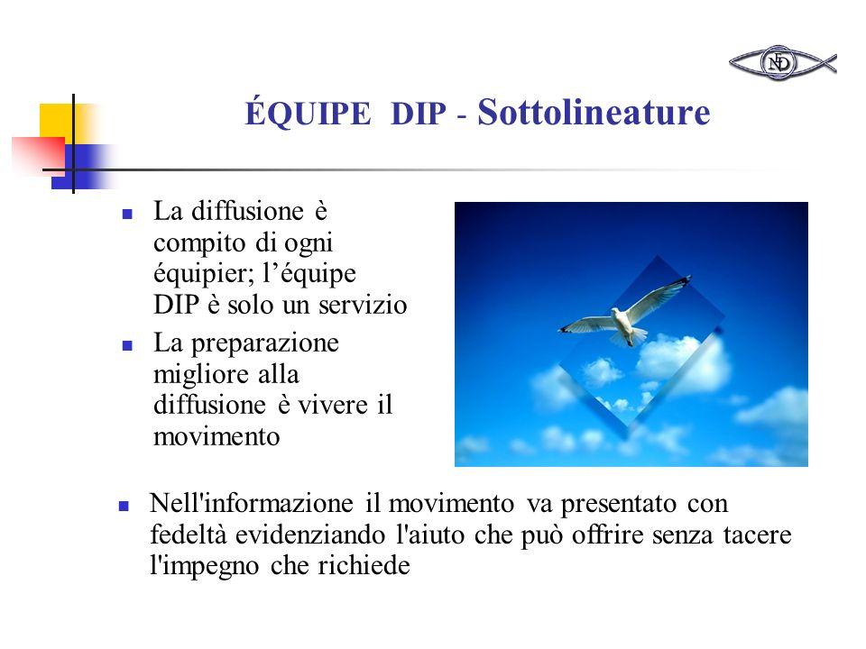 ÉQUIPE DIP - Sottolineature