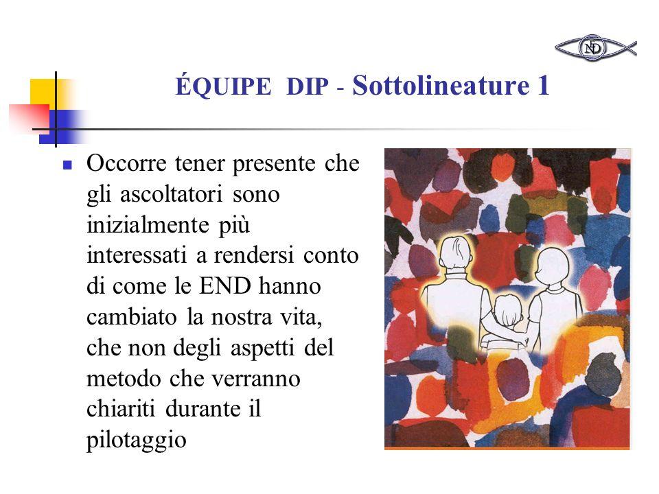 ÉQUIPE DIP - Sottolineature 1