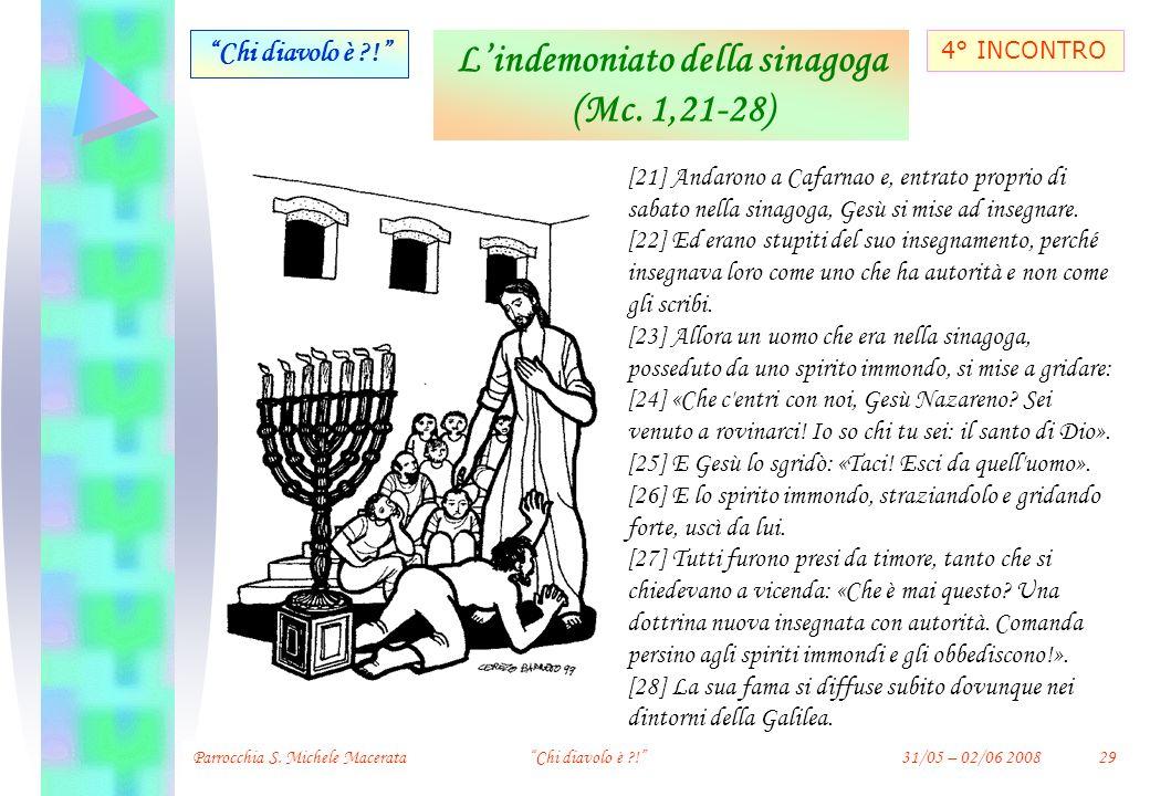 L'indemoniato della sinagoga