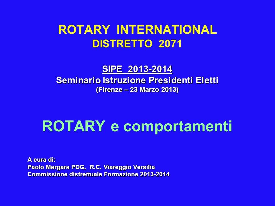 ROTARY INTERNATIONAL DISTRETTO 2071