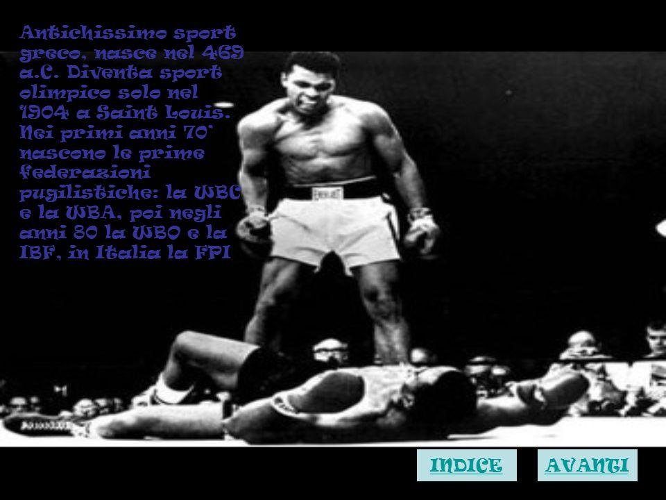 Antichissimo sport greco, nasce nel 469 a. C
