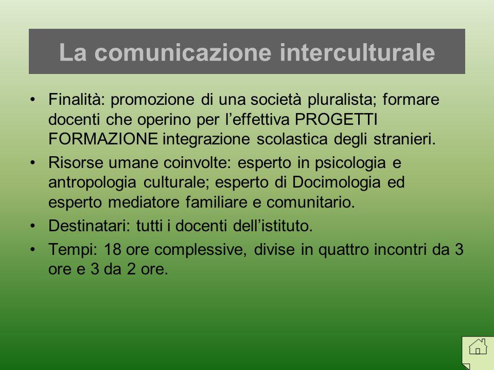 La comunicazione interculturale