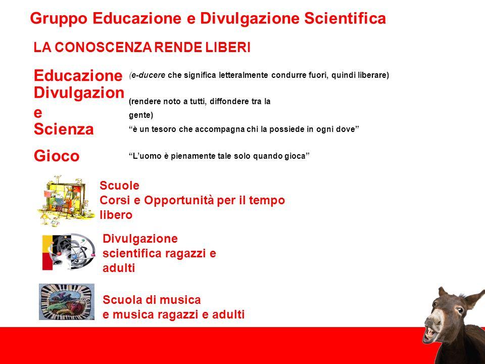 Gruppo Educazione e Divulgazione Scientifica