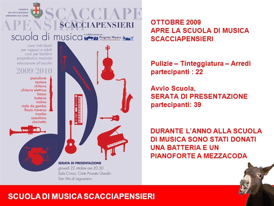 SCUOLA DI MUSICA SCACCIAPENSIERI