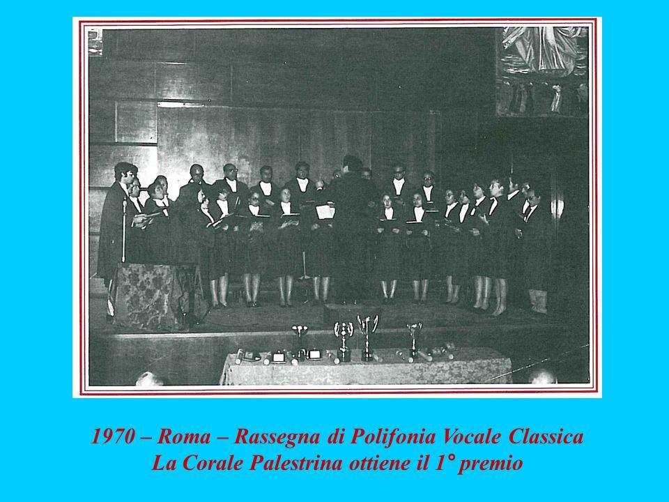 1970 – Roma – Rassegna di Polifonia Vocale Classica