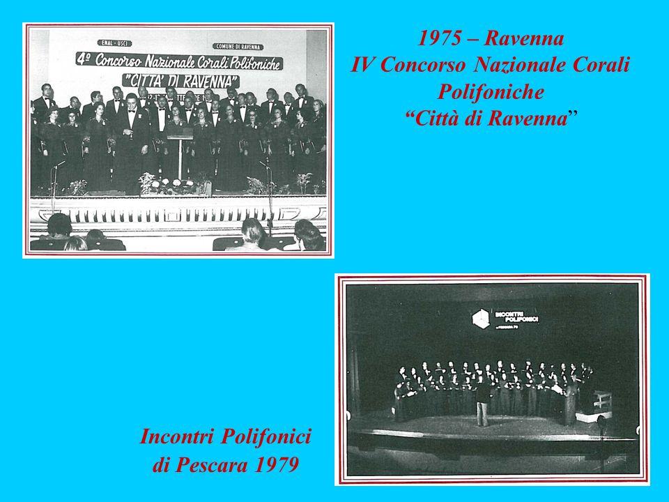 IV Concorso Nazionale Corali Polifoniche