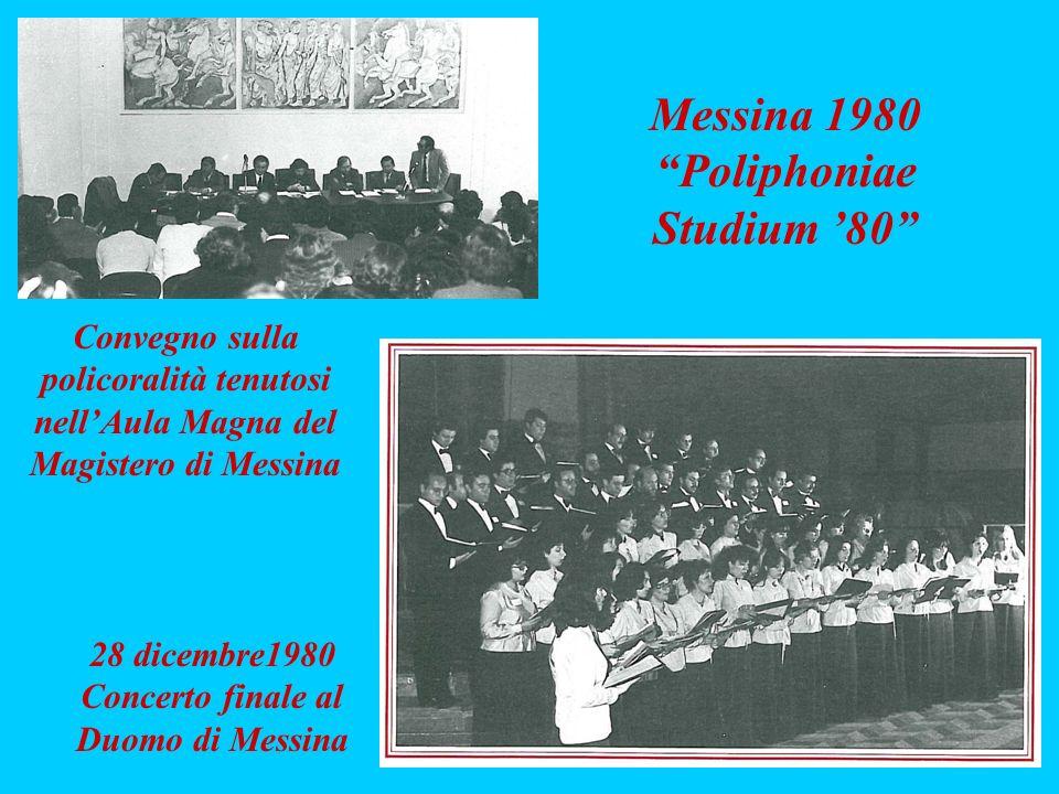 Concerto finale al Duomo di Messina