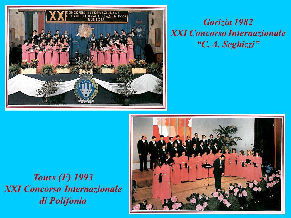 XXI Concorso Internazionale XXI Concorso Internazionale