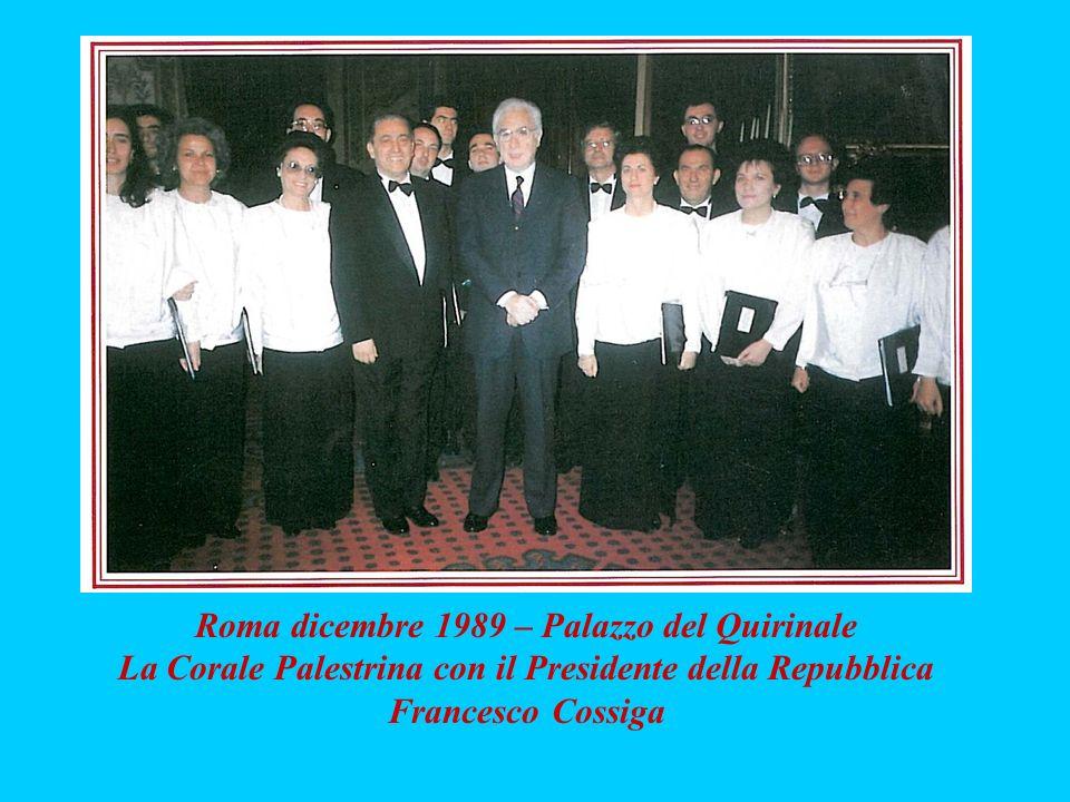 Roma dicembre 1989 – Palazzo del Quirinale