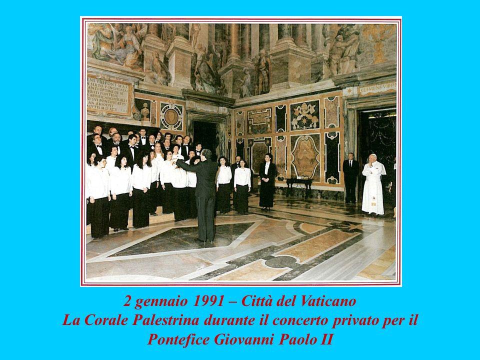2 gennaio 1991 – Città del Vaticano