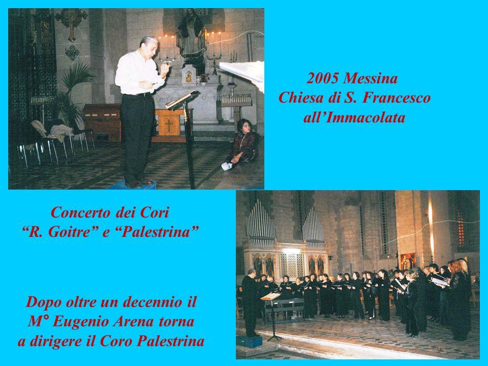 Dopo oltre un decennio il a dirigere il Coro Palestrina
