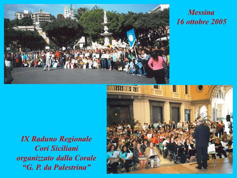 IX Raduno Regionale Cori Siciliani organizzato dalla Corale