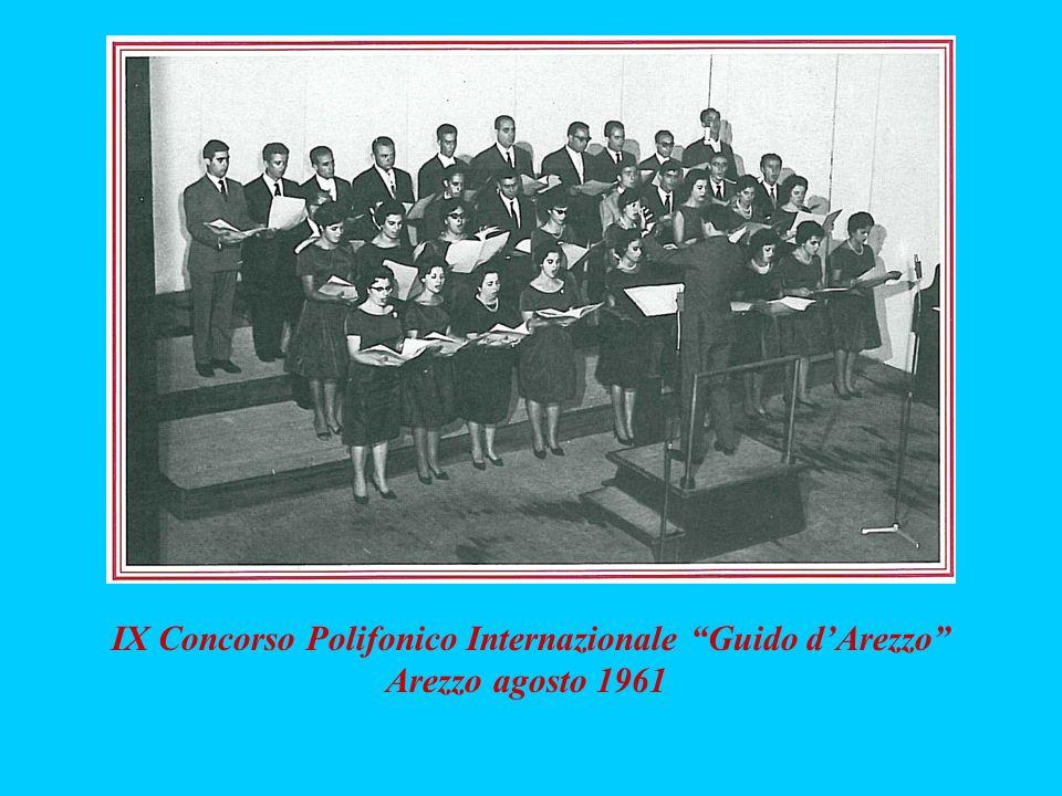 IX Concorso Polifonico Internazionale Guido d'Arezzo