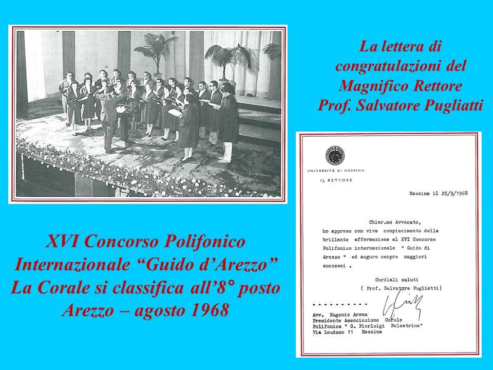 XVI Concorso Polifonico Internazionale Guido d'Arezzo