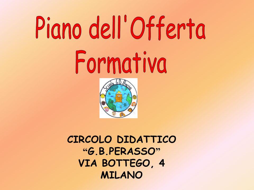 Piano dell Offerta Formativa CIRCOLO DIDATTICO G.B.PERASSO