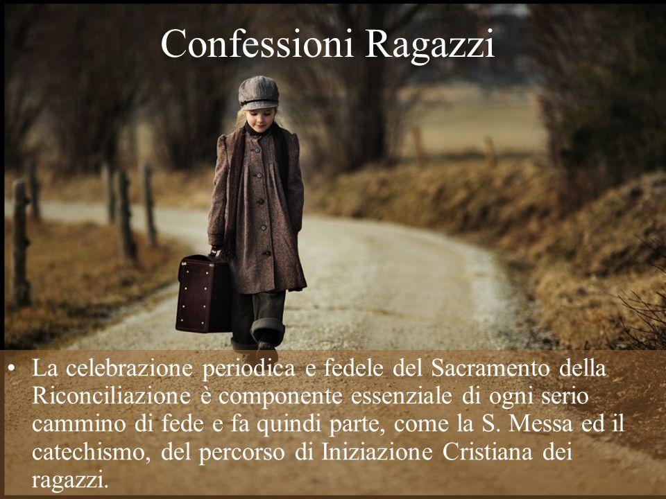 Confessioni Ragazzi