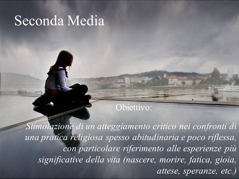 Seconda Media Obiettivo: