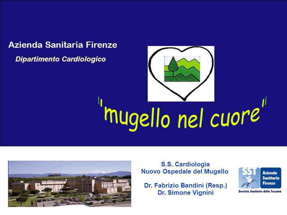 Nuovo Ospedale del Mugello Dr. Fabrizio Bandini (Resp.)