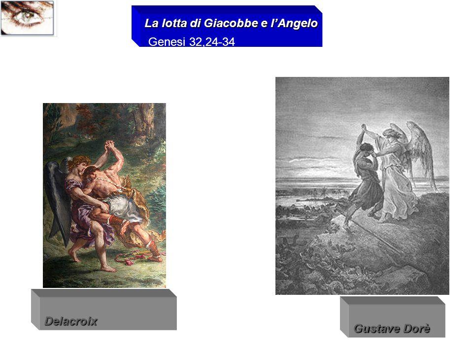 La lotta di Giacobbe e l'Angelo