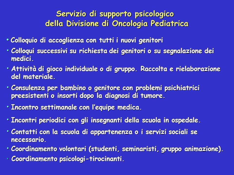 Servizio di supporto psicologico