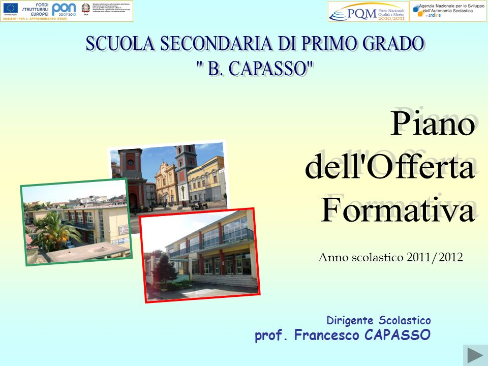 Dirigente Scolastico prof. Francesco CAPASSO