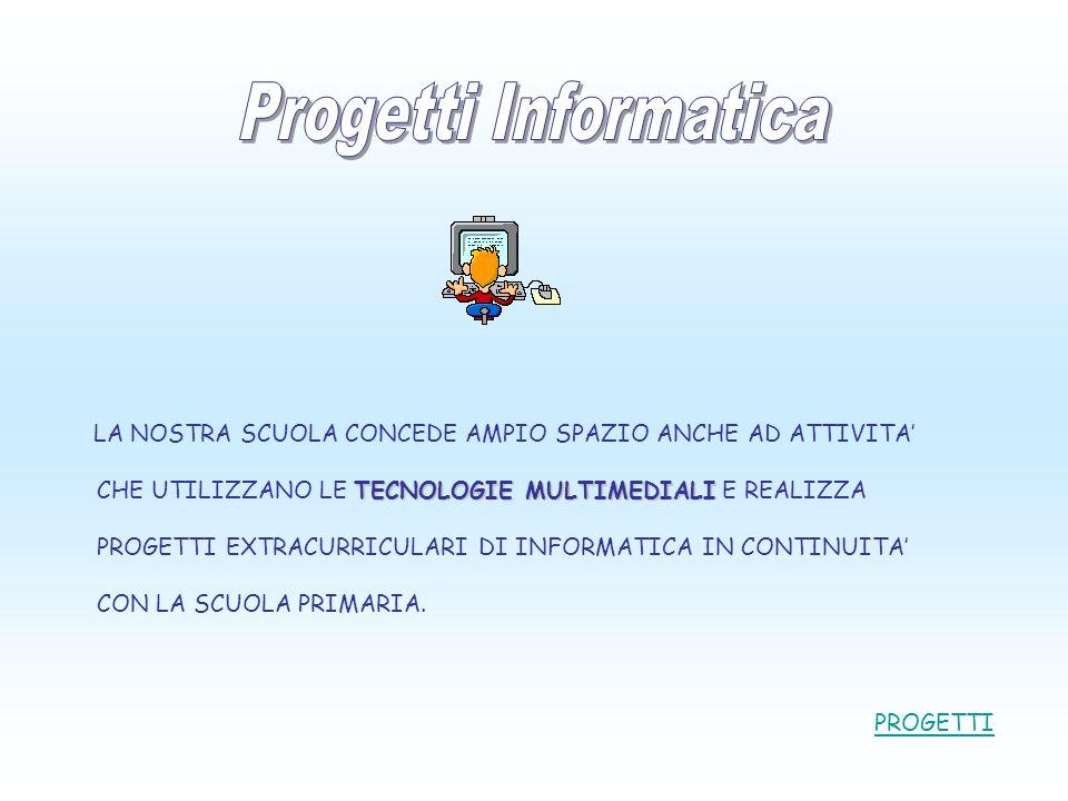 Progetti Informatica PROGETTI