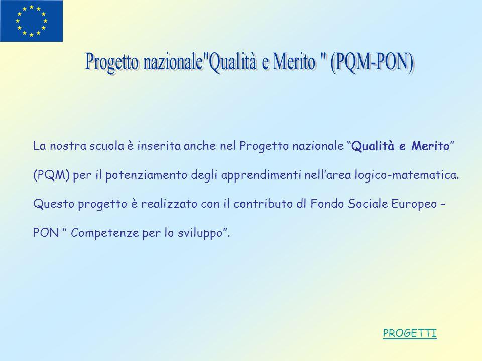 Progetto nazionale Qualità e Merito (PQM-PON)