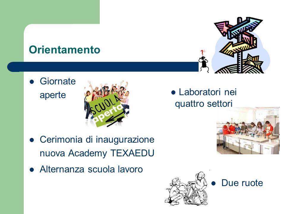 Laboratori nei quattro settori