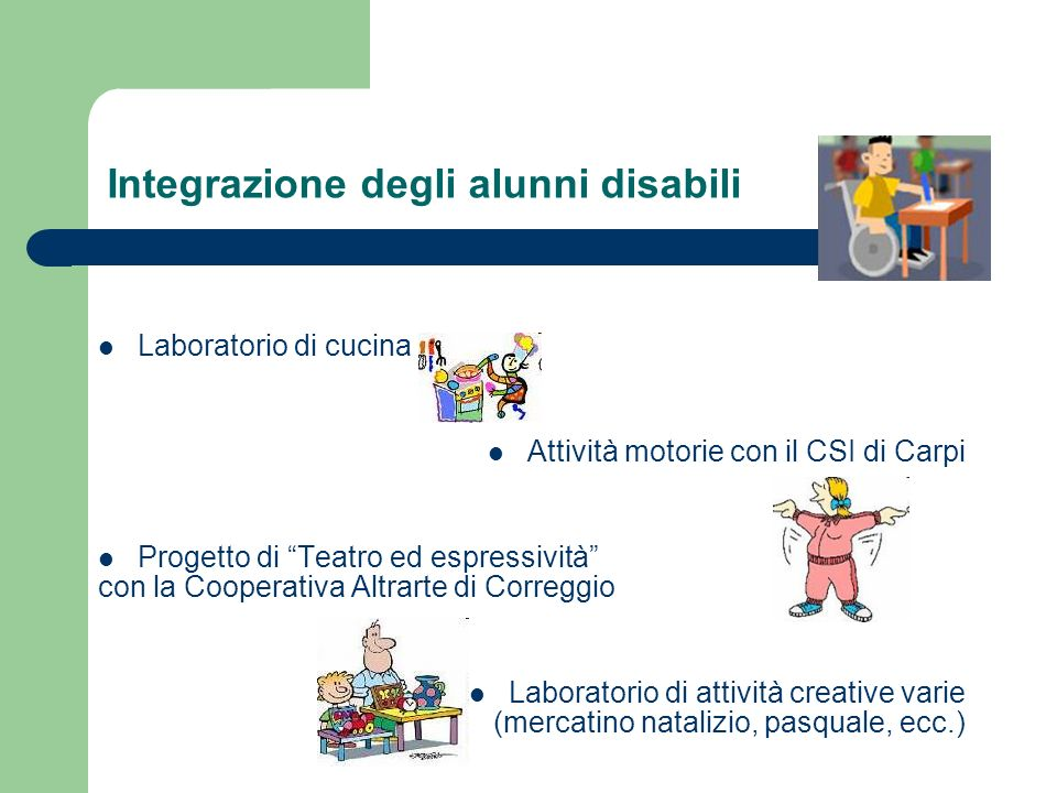 Integrazione degli alunni disabili