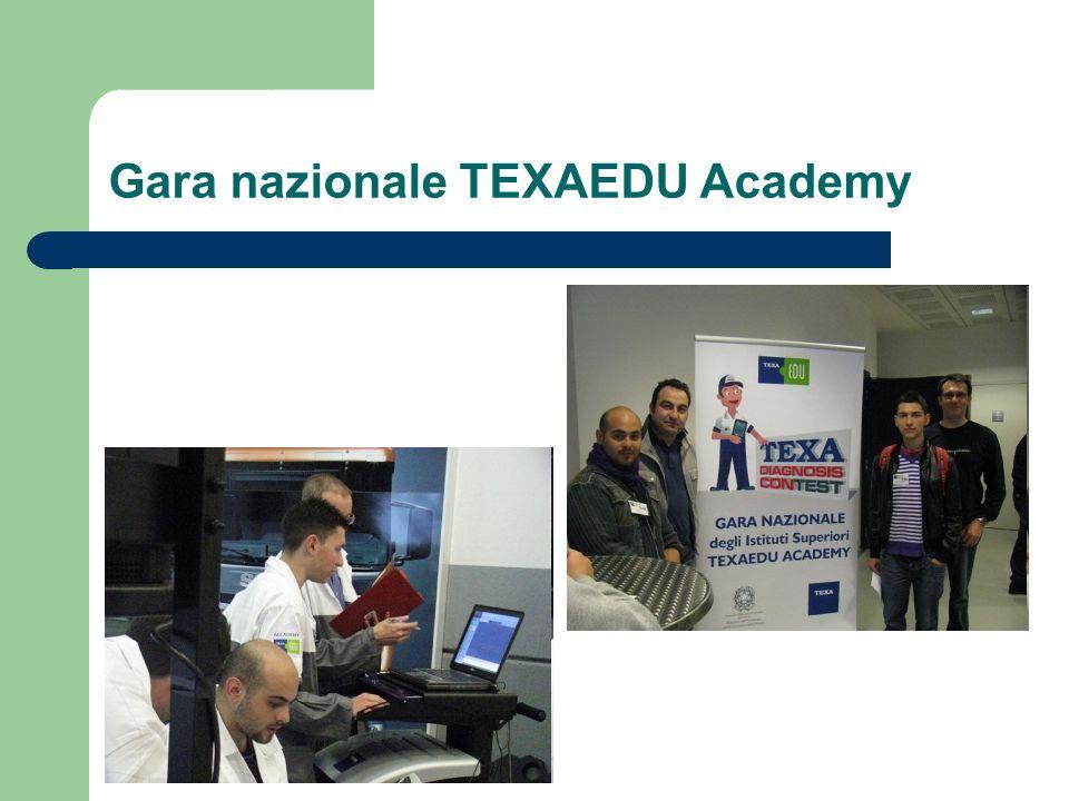 Gara nazionale TEXAEDU Academy