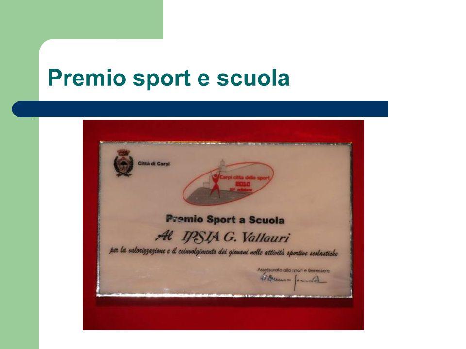 Premio sport e scuola