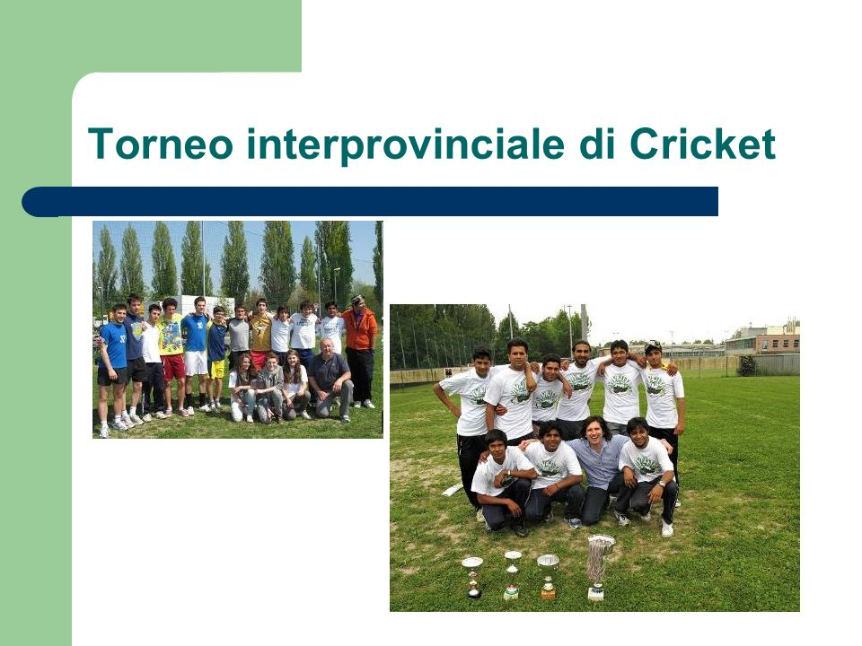 Torneo interprovinciale di Cricket
