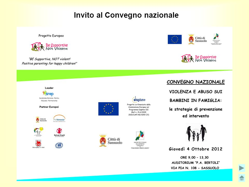 Invito al Convegno nazionale