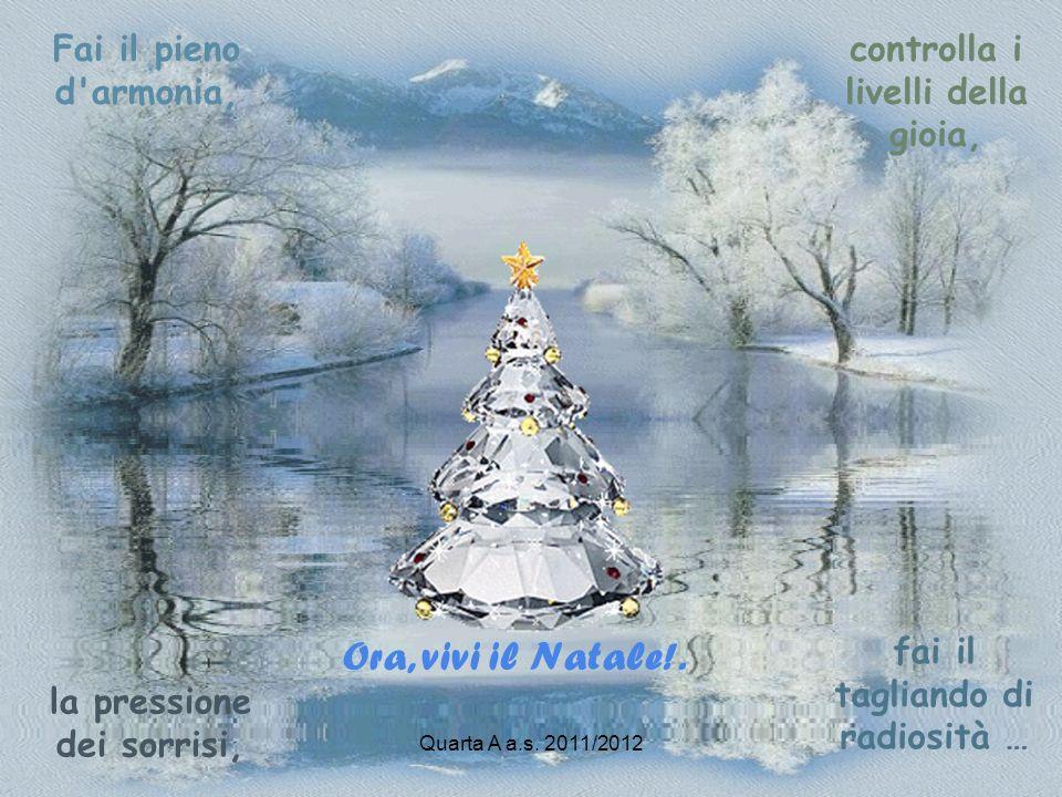 Ora, vivi il Natale!. Fai il pieno d armonia,