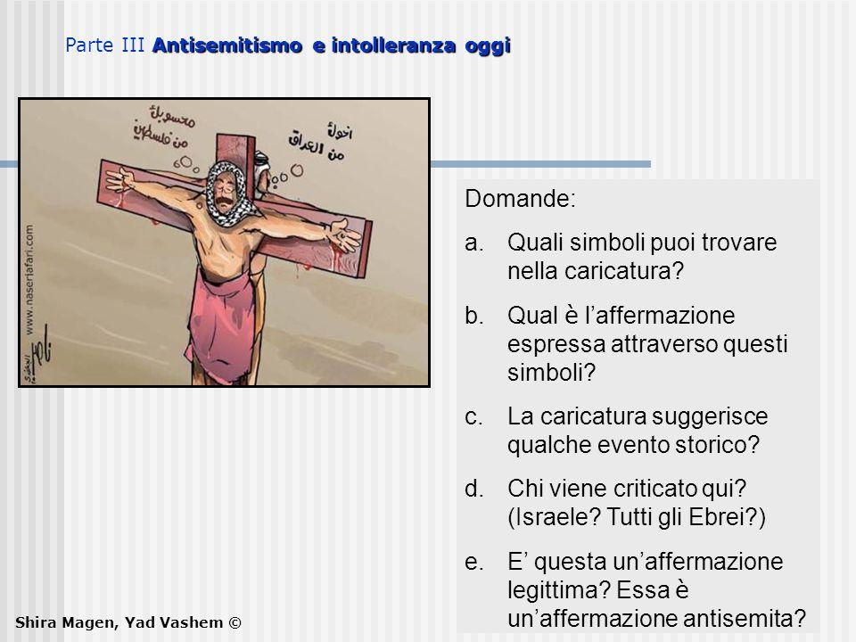 Quali simboli puoi trovare nella caricatura