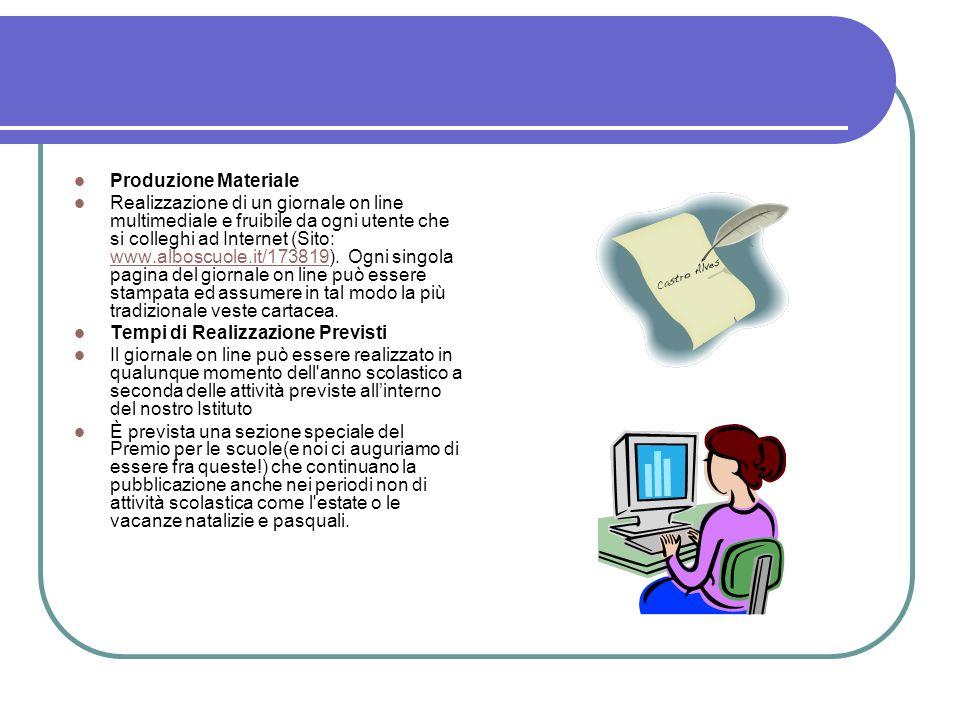 Produzione Materiale