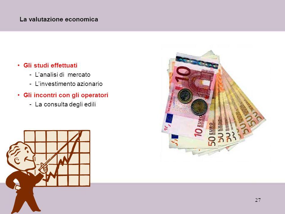 La valutazione economica