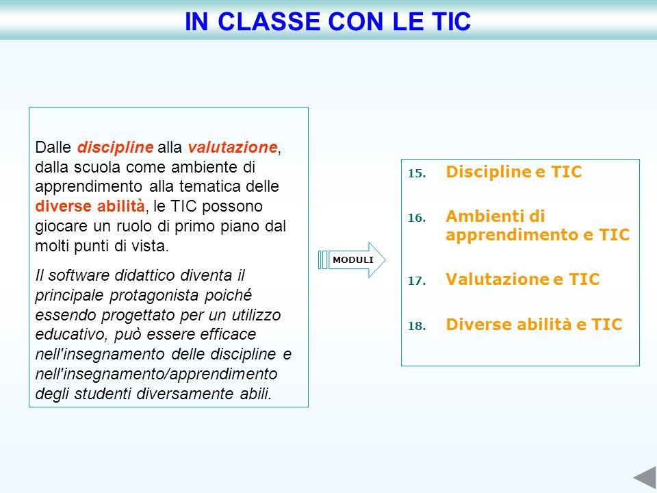 IN CLASSE CON LE TIC