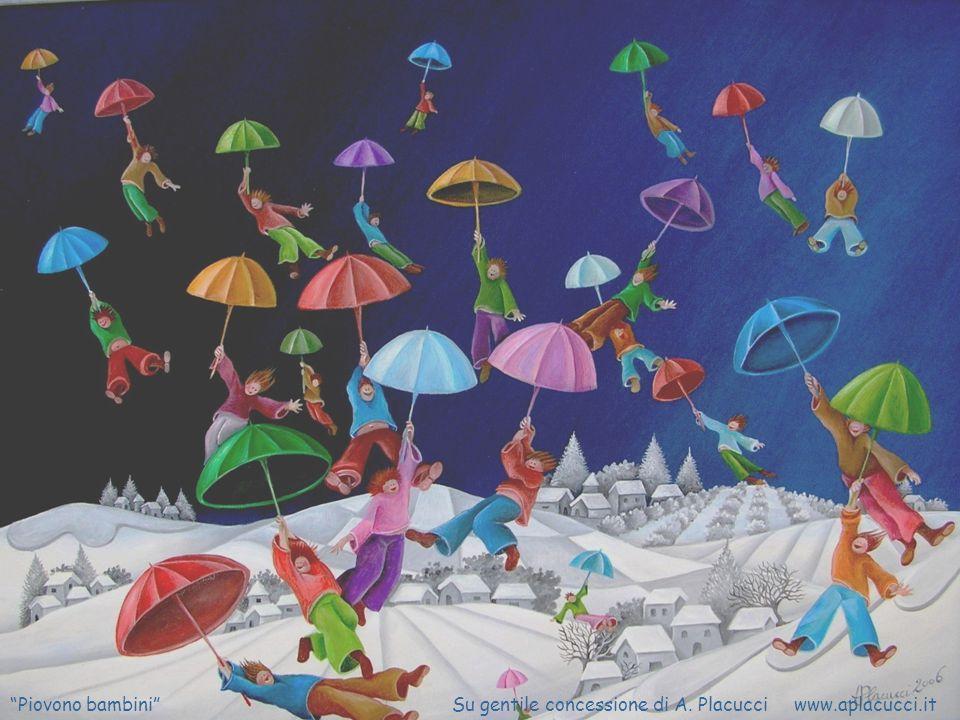 Piovono bambini Su gentile concessione di A. Placucci www.aplacucci.it