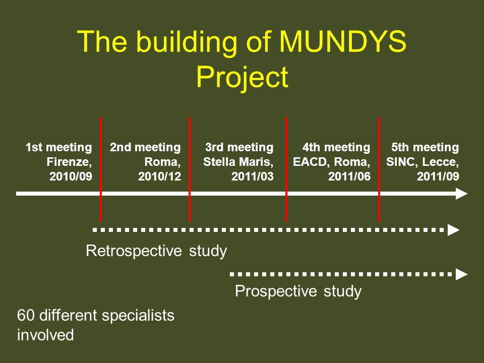 The building of MUNDYS Project