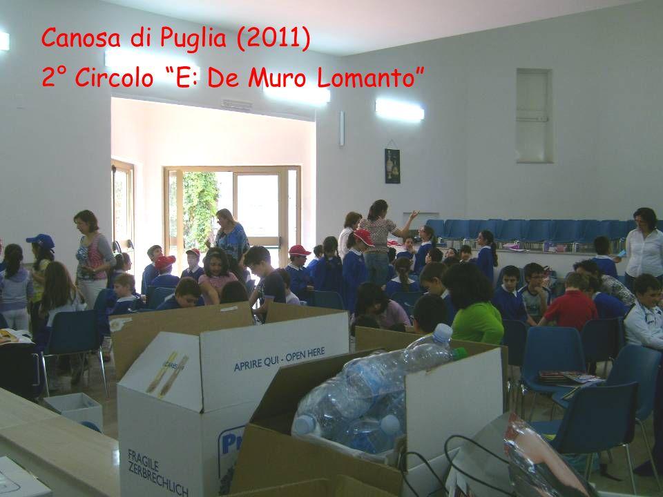 Canosa di Puglia (2011) 2° Circolo E: De Muro Lomanto